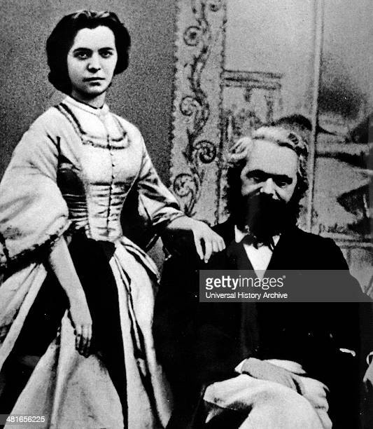 Karl Marx with his daughter Jenny in 1866 Marx was a German philosopher economist sociologist historian journalist and revolutionary socialist