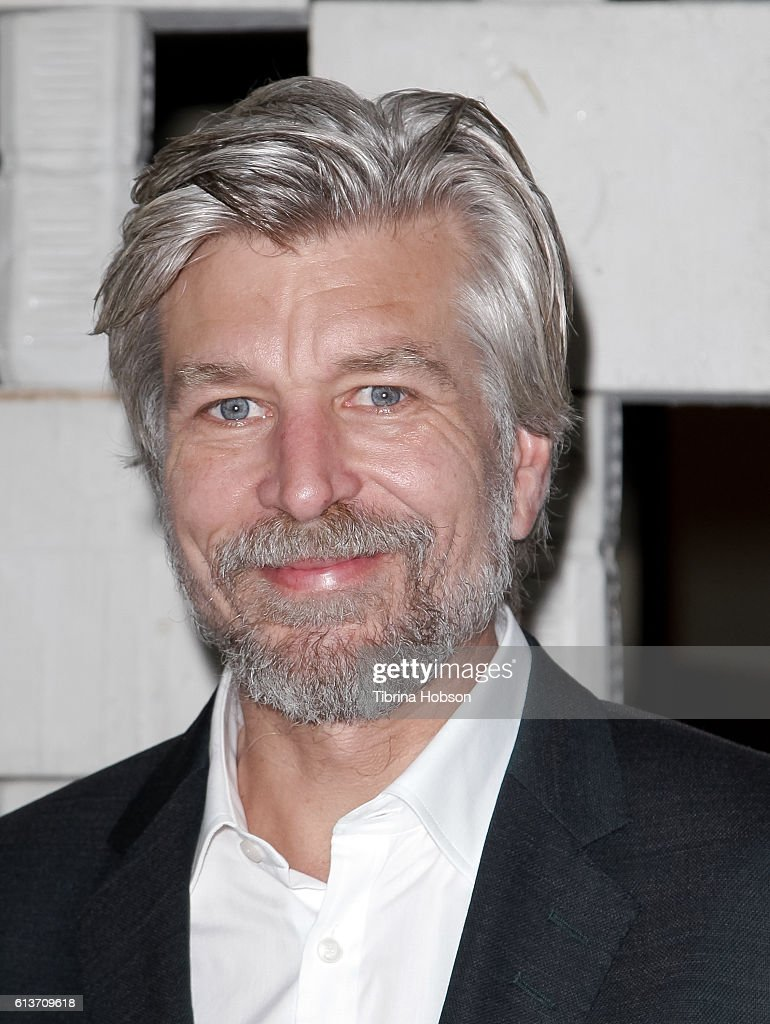 Karl Ove Knausgaard attends the Hammer Museum's 14th annual Gala In The Garden at Hammer Museum on October 8, 2016 in Westwood, California.