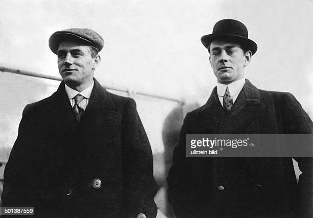 Karl Saldow German cyclist National pacemaker race champion with his partner Willy Lorenz probably in 1912