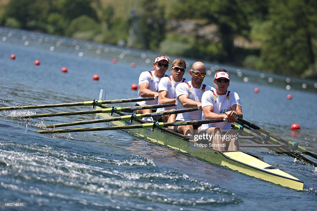 2015 World Rowing Cup III In Lucerne - Day One