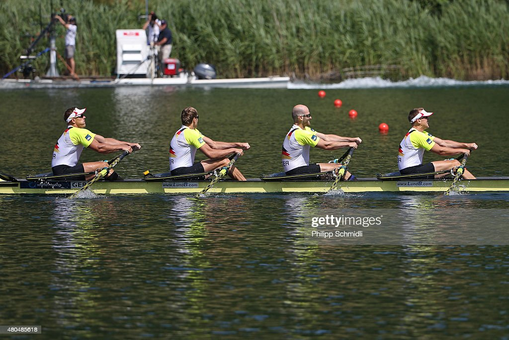 2015 World Rowing Cup III In Lucerne - Day Three