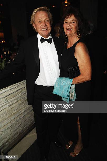Karl Stenstrom and Christina Stenstrom attend Brazil Foundation Gala at W South Beach on March 27 2012 in Miami Beach Florida