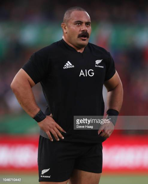 Karl Tu'inukuafe of the New Zealand during the Rugby Championship match between South Africa Springboks and New Zealand All Blacks at Loftus Versfeld...