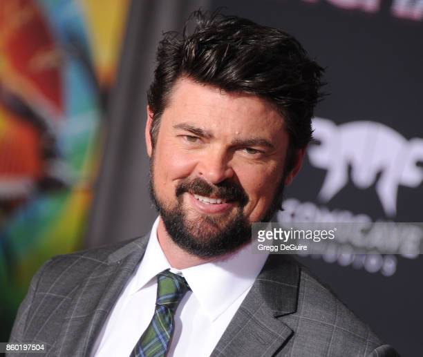 Karl Urban arrives at the premiere of Disney and Marvel's 'Thor Ragnarok' at the El Capitan Theatre on October 10 2017 in Los Angeles California