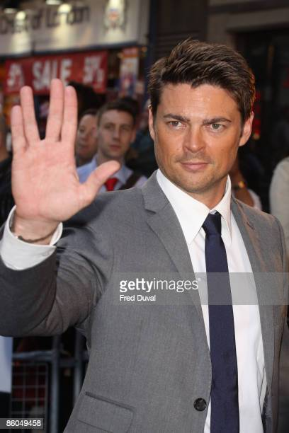 Karl Urban attends the UK premiere of 'Star Trek' at Empire Leicester Square on April 20, 2009 in London, England.