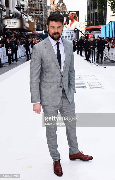 Karl Urban attends the UK Premiere of 'Star Trek Beyond' at Empire Leicester Square on July 12 2016 in London England
