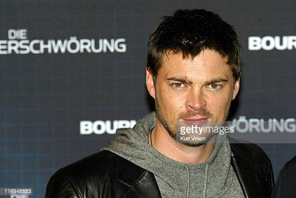 Karl Urban during 'The Bourne Supremacy' Berlin Premiere at Sony Center in Berlin Germany