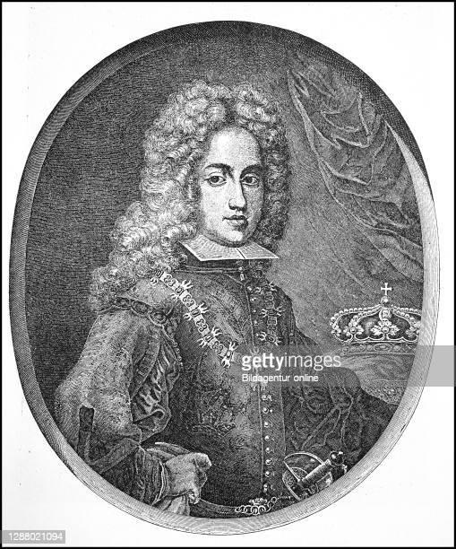 Karl VI. Franz Joseph Wenzel Balthasar Johann Anton Ignaz, October 1st 1685 - ibid 20 October 1740, from 1711 to 1740 Roman-German Emperor and...