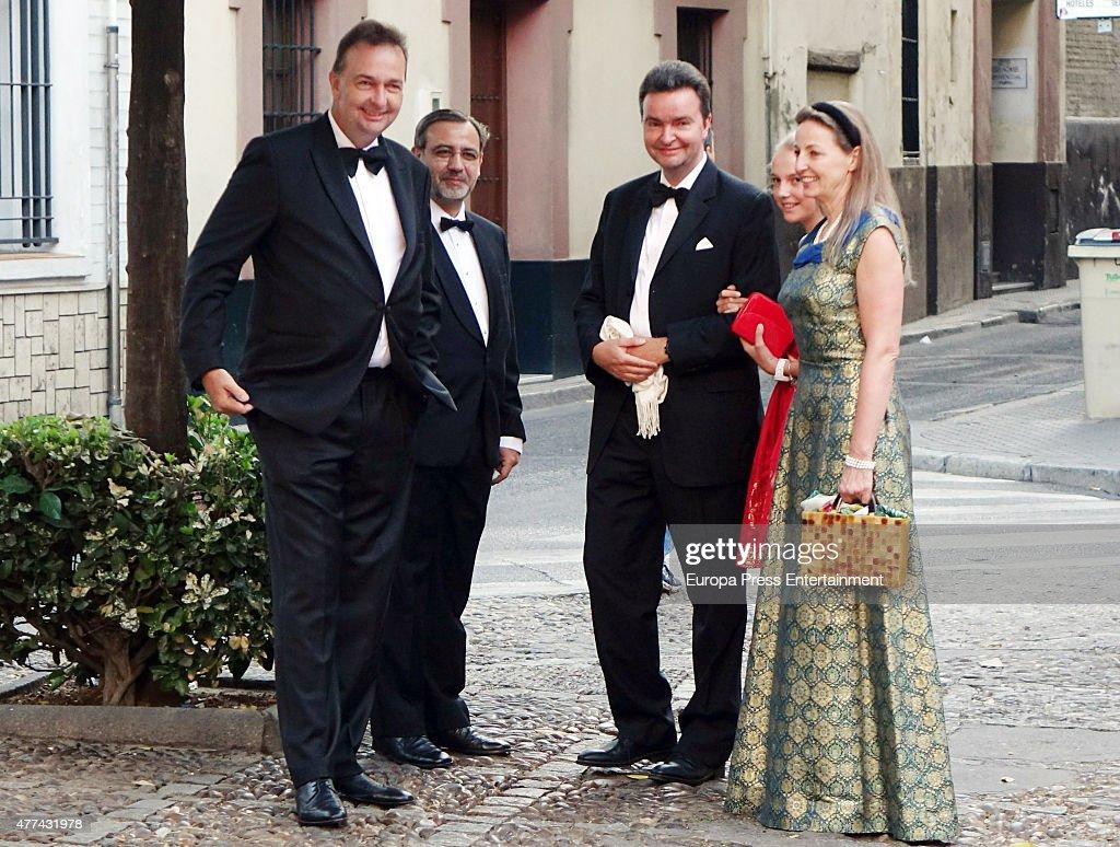 Karl von Habsburg's Children Attend Their Debutante Ball In Seville : News Photo