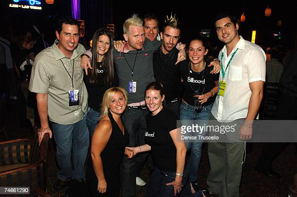 Karl Vontz, Courtney, Kaiser Soucy, Michael Paoletta, Lord Fader, Erin Parker, Dave Moser, Bottom Row: Michele Jacangelo and Margaret O'Shea during...