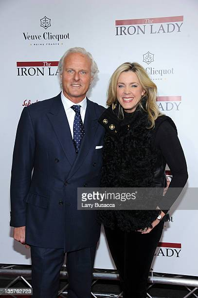 Karl Wellner and Deborah Norville attend the 'The Iron Lady' New York premiere>> at the Ziegfeld Theater on December 13 2011 in New York City