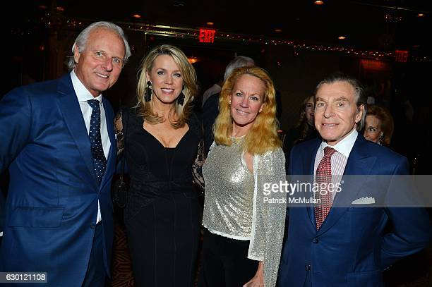 Karl Wellner Deborah Wellner Muffie Potter Aston and Dr Sherrell Aston attend George Farias Anne and Jay McInerney Host A Christmas Cheer Holiday...