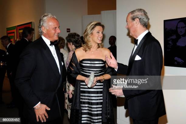 Karl Welner Deborah Norville and The Duchess of Marlborough attend Dinner for The Blenheim Foundation at Sotheby's on May 11 2009 in New York City