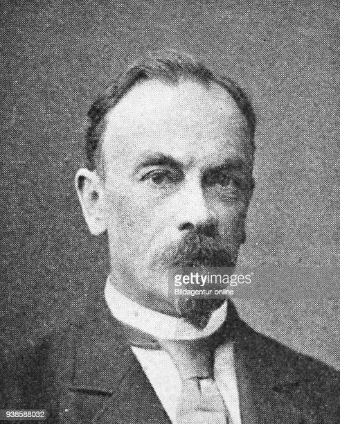 Karl Wilhelm von Kupffer 18291902 a Baltic German anatomist who discovered stellate macrophage cells that bear his name reproduction photo from the...