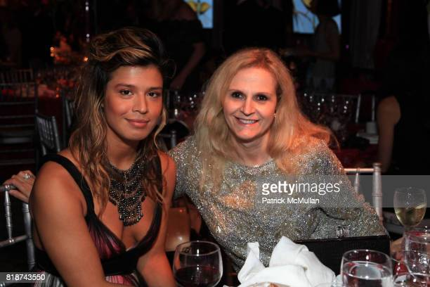 Karla Barbosa and Ida Pedrotti attend Wildlife Conservation Society Spring 2010 Gala Flight of Fancy at Central Park Zoo on June 10 2010 in New York...