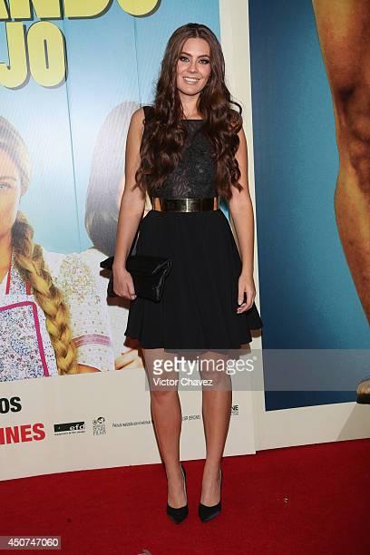 Karla Carrillo attends the Volando Bajo Mexico City premiere at Cinepolis Diana on June 16 2014 in Mexico City Mexico