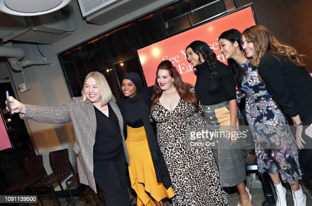 Karla Davis Kelly Bales Halima Aden Tess Holiday Hannah Bronfman Michelle Lee and Shelley Haus attend as Allure and Ulta Beauty host See Yourself See...