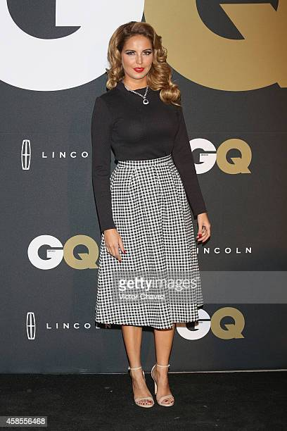 Karla Díaz attends GQ Men Of The Year Awards 2014 on November 6 2014 in Mexico City Mexico