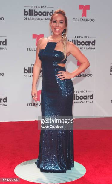 Karla Gomez attends Billboard Latin Music Awards Arrivals at Watsco Center on April 27 2017 in Coral Gables Florida