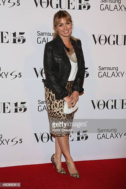 Karla Guindi attends the Vogue Mexico Who's on Next The Vogue Fashion Fund 2nd edition at Centro Gallego on June 18 2014 in Mexico City Mexico