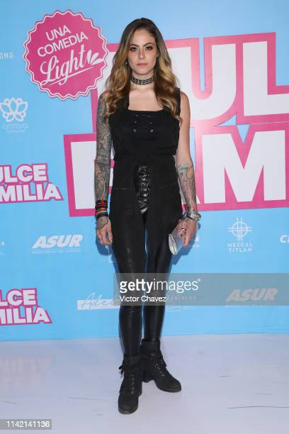 Karla Holt attends the 'Dulce Familia' premiere at Cinemex Antara Polanco on May 7 2019 in Mexico City Mexico