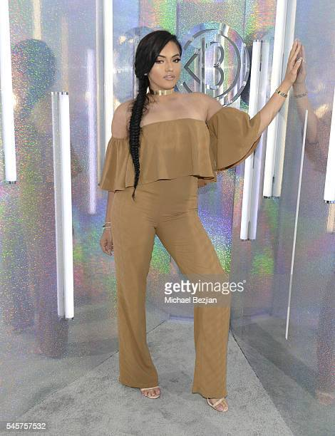 Karla Jara poses for portrait at the 4th Annual Beautycon Festival Los Angeles at Los Angeles Convention Center on July 9 2016 in Los Angeles...