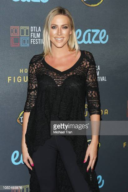 """Karla Madsen attends the 2018 Downtown Los Angeles Film Festival - """"All Creatures Here Below"""" """"Original Sin"""" And Perception"""" Press line held at Regal..."""