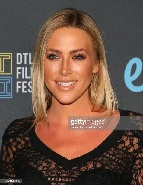 Karla Madsen attends the 2018 Downtown Los Angeles Film Festival - 'All Creatures Here Below' 'Original Sin' And Perception' Press line held at Regal...