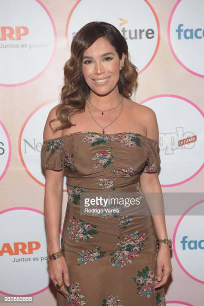 Karla Martinez arrives at the People en Espanol's 25 Most Powerful Women Luncheon 2018 on March 16 2018 in Miami Florida