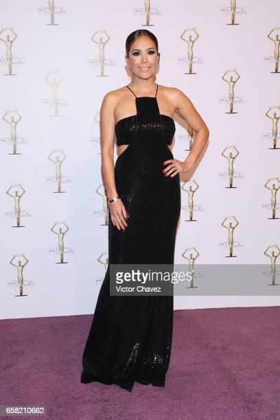 Karla Martinez attends Premios Tv y Novelas 2017 at Televisa San Angel on March 26 2017 in Mexico City Mexico