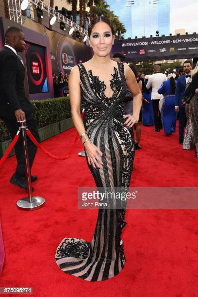 Karla Martinez attends The 18th Annual Latin Grammy Awards at MGM Grand Garden Arena on November 16 2017 in Las Vegas Nevada
