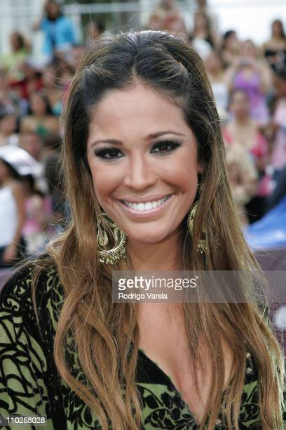 Karla Martinez during 2005 Premios Juventud Awards Red Carpet at University of Miami Convention Center in Miami Florida United States