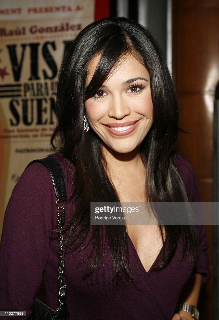 Karla Martinez during 'Visa para un Sueno' Miami Premiere at Miracle Theater in Miami, Florida, United States.