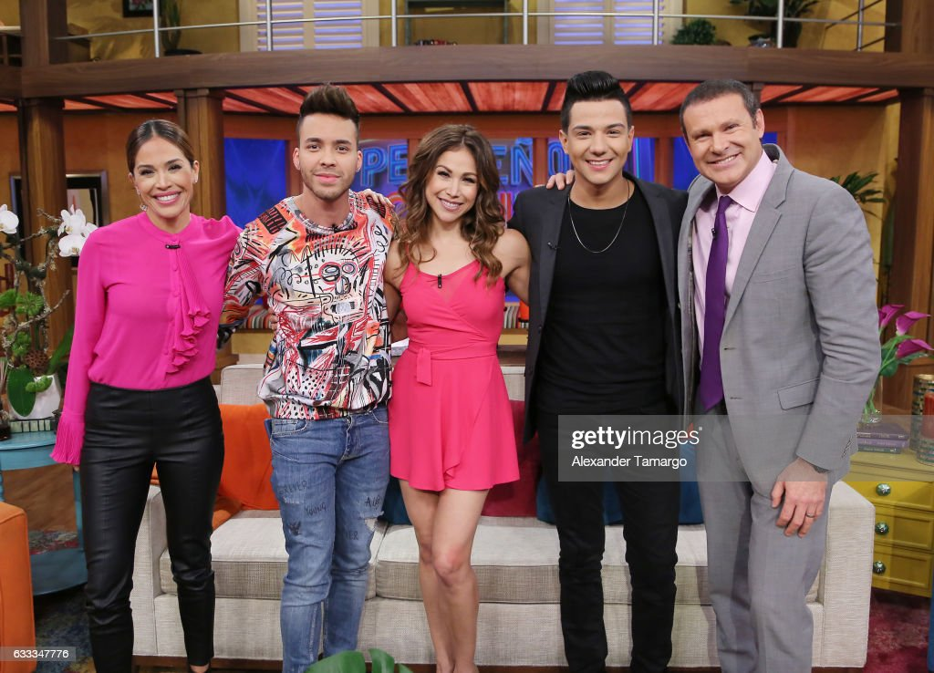 "Prince Royce, Bianca Marroquin, And Luis Coronel On ""Despierta America"""