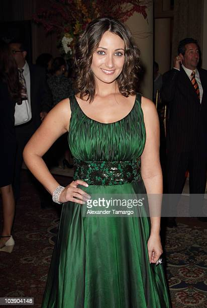 Karla Monroig attends screening of Telemundo's 'Alguien Te Mira' at The Biltmore Hotel on September 7 2010 in Coral Gables Florida
