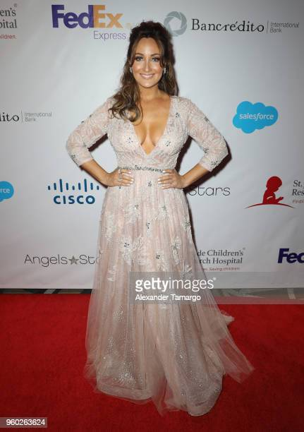 Karla Monroig is seen at the 16th Annual FedEx/St Jude Angels Stars Gala on May 19 2018 in Miami Florida