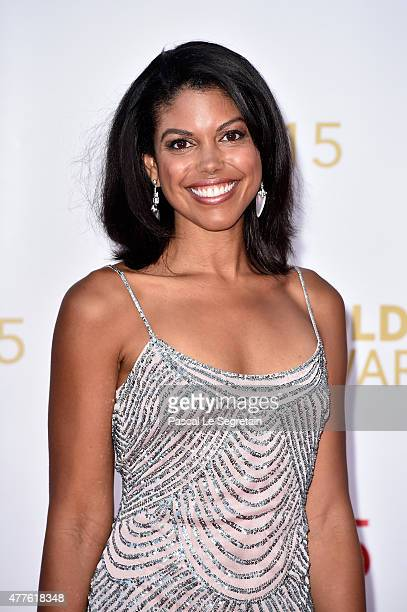 Karla Mosley attends the closing ceremony of the 55th MonteCarlo Television Festival on June 18 in Monaco