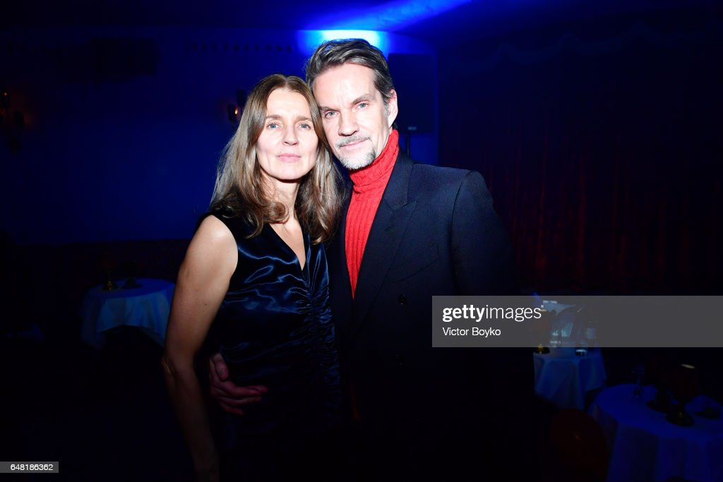 Natalia Vodianova's birthday Vogue Cabaret Party - Paris Fashion Week Womenswear Fall/Winter 2017/2018 : Photo d'actualité