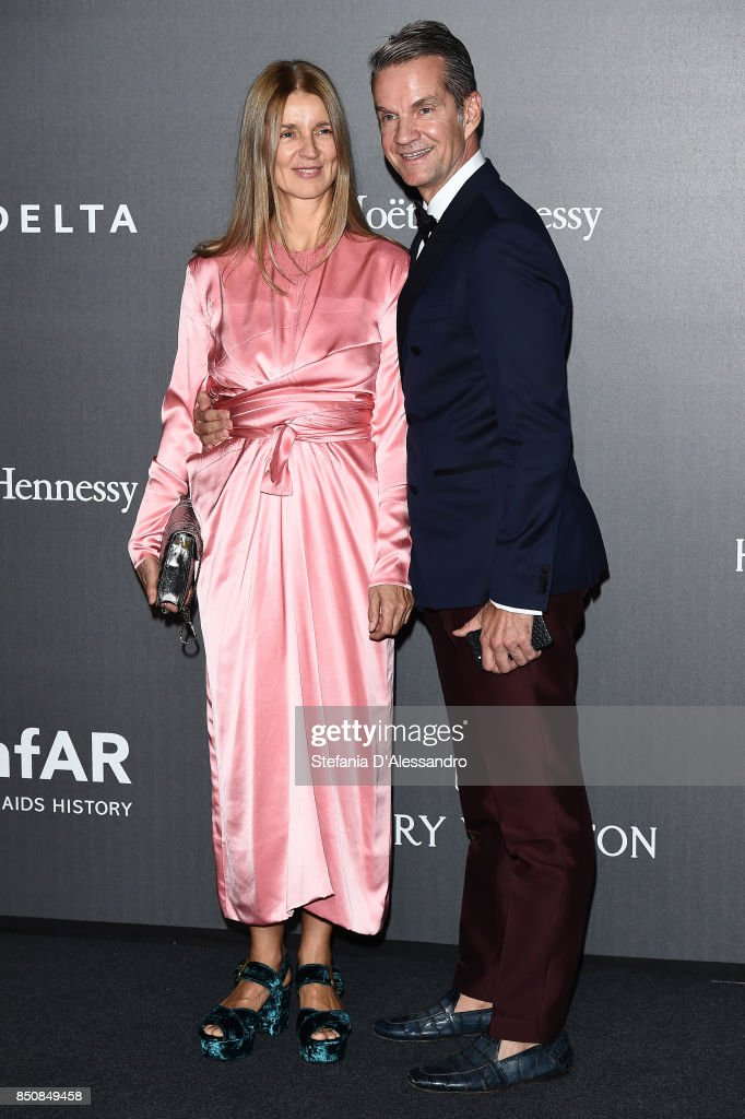 amfAR Gala Milano 2017 - Red Carpet : News Photo