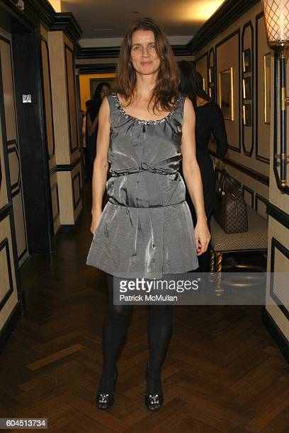 Karla Otto attends Dinner Hosted by Consuelo Castiglioni of MARNI at Bergdorf Goodman on November 15 2006 in New York City