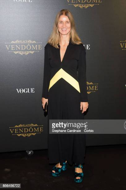 Karla Otto attends Vogue Party as part of the Paris Fashion Week Womenswear Spring/Summer 2018 at on October 1, 2017 in Paris, France.