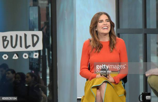 Karla Souza attends Build series to discuss How To Get Away With Murder at Build Studio on February 15 2017 in New York City