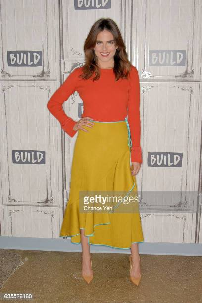 Karla Souza attends Build series to discuss 'How To Get Away With Murder' at Build Studio on February 15 2017 in New York City