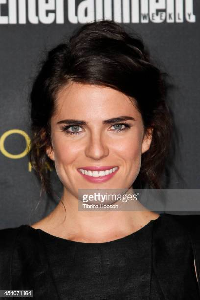 Karla Souza attends Entertainment Weekly's PreEmmy party at Fig Olive Melrose Place on August 23 2014 in West Hollywood California