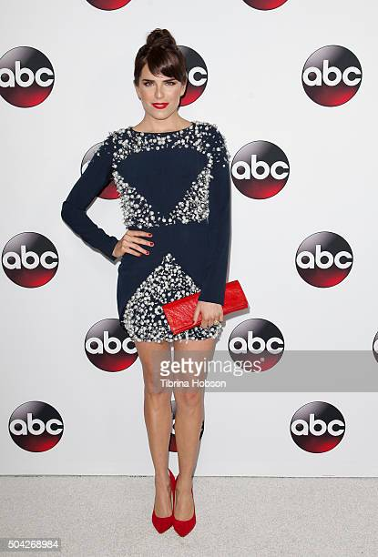 Karla Souza attends the Disney/ABC 2016 Winter TCA Tour at Langham Hotel on January 9 2016 in Pasadena California