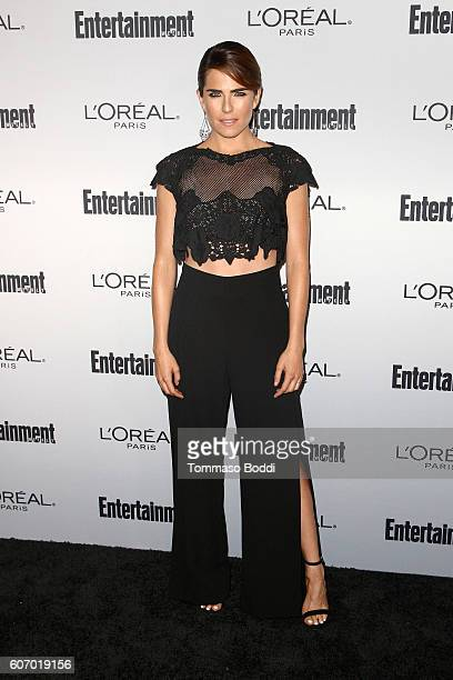 Karla Souza attends the Entertainment Weekly's 2016 PreEmmy Party held at Nightingale Plaza on September 16 2016 in Los Angeles California