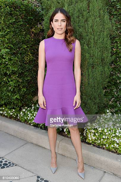 Karla Souza attends The Rape Foundation's Annual Brunch at Private Residence on September 25 2016 in Beverly Hills California