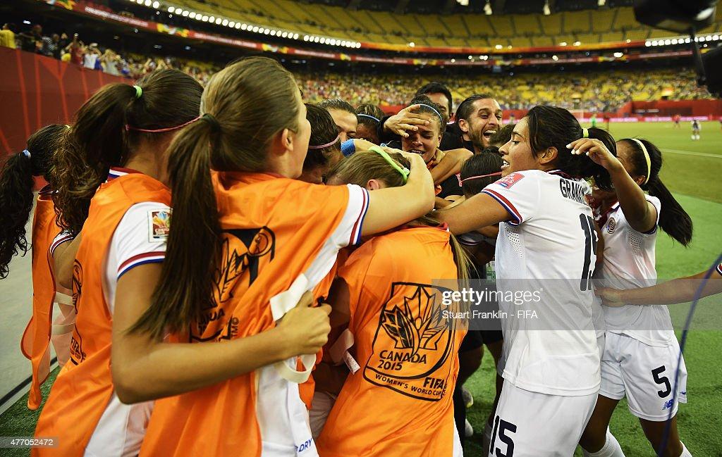 Korea Republic v Costa Rica: Group E - FIFA Women's World Cup 2015 : News Photo