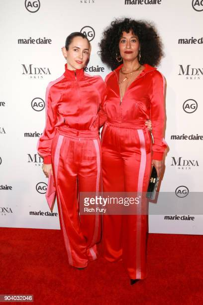 0f4986224 Karla Welch and Tracee Ellis Ross attend the Marie Claire's Image Makers  Awards 2018 on January