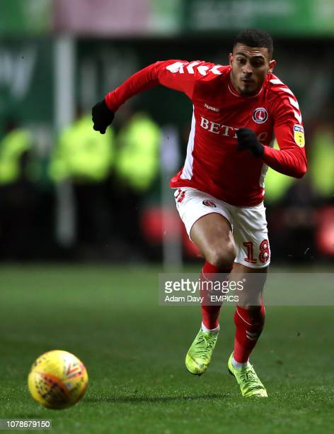 Karlan AhearneGrant Charlton Athletic Charlton Athletic v Sunderland Sky Bet League One The Valley